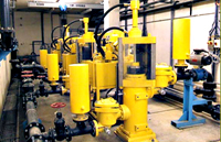 Hydraulic Ram Pumps For Feeding Filter Presses