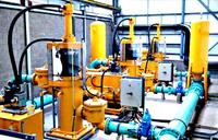 Hydraulic Ram Pump for Sludge Transfer
