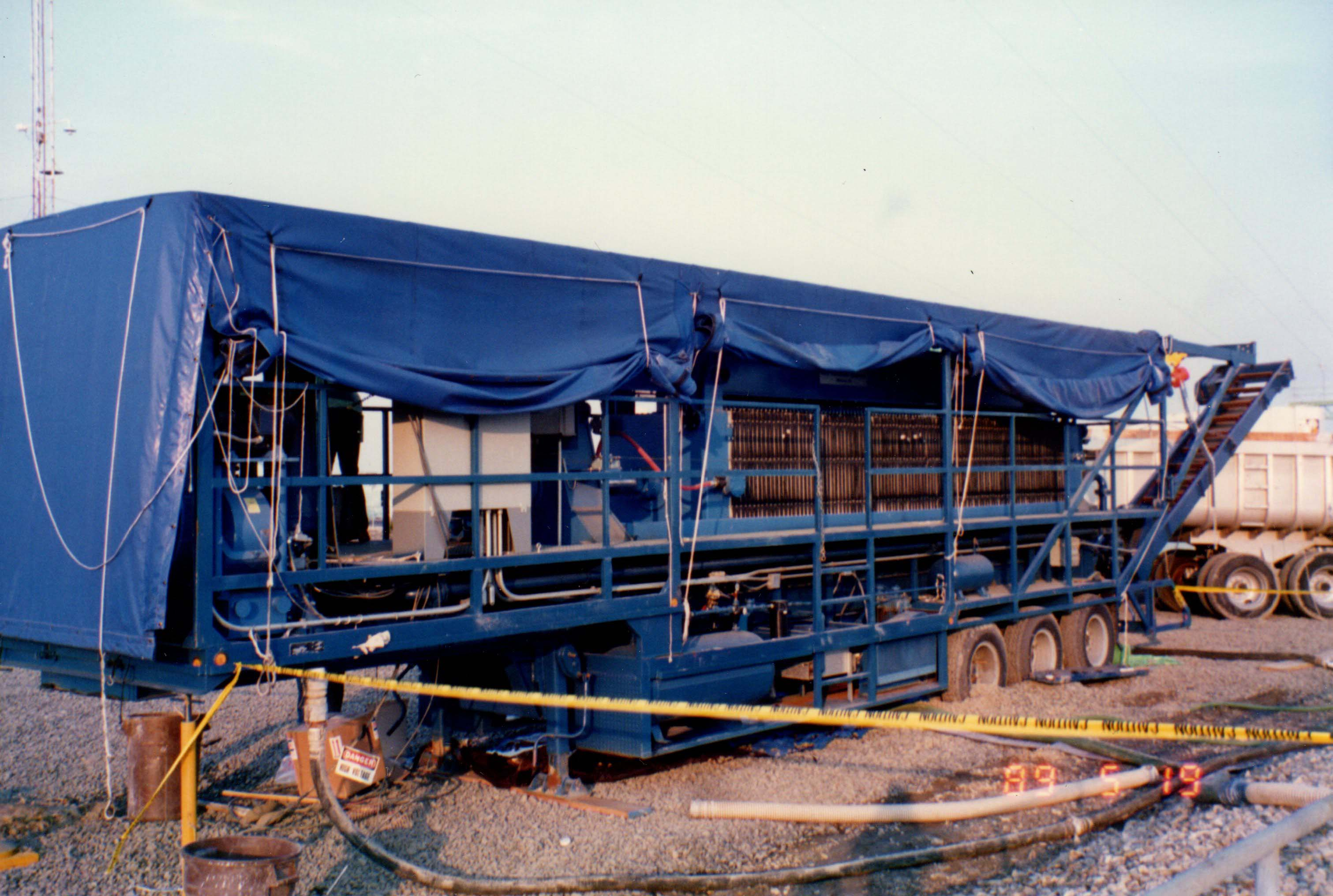 R&B Trailer Mounted Mobile Filter Press System