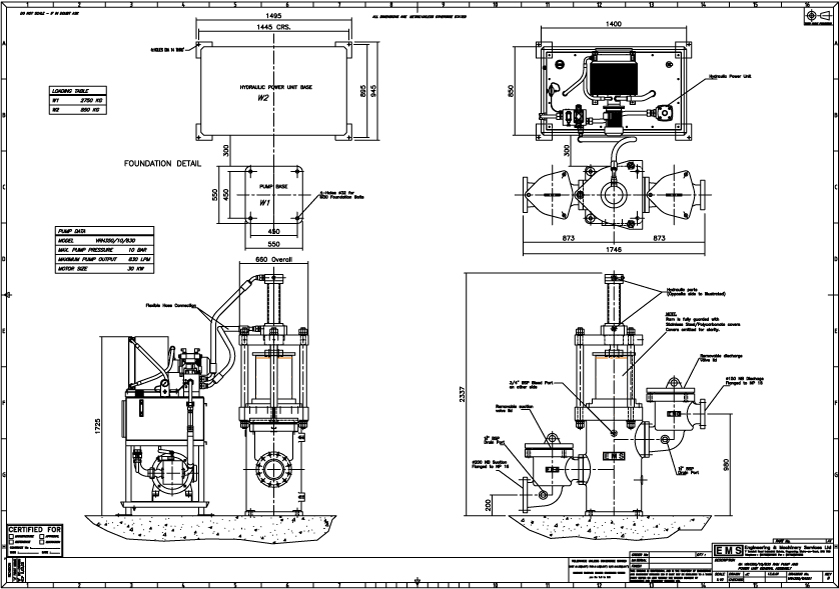 ram pump diagram