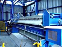 Sidebar Filter Press with Polypropylene Plastic Filter Plates