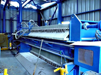 Sidebar Filter Press with Polypropylene Plastic Filter Plates