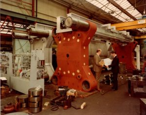 Manor Filter Press Factory with Ken Amos and Norman Snape