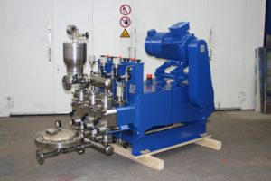 TKM Hydraulic Lime Transfer Pump