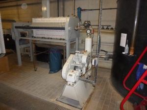Filter Press Feed Pump from Emmerich