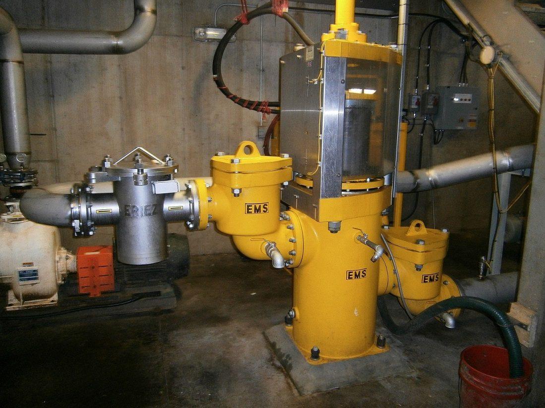 EMS Food Waste Hydraulic Ram Pump